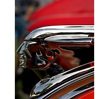 "1948 Pontiac ""The Pontiac Chief"" Hood ornament Photographic Print"