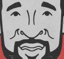 Ozzie Smith Caricature Sticker