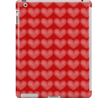 hearts in red iPad Case/Skin