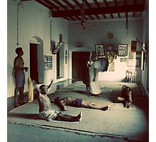 Guru and students Photographic Print