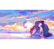 Sword Art Online - Asuna and Kirito Photographic Print