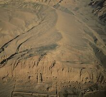 Aerial View of Bamiyan Valley, Afghanistan by yoshiaki nagashima