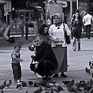 Feeding The Birds (Istanbul) by JLaverty