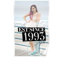 Ariana Grande: EST Since 1993 Poster