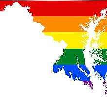 LGBT Flag of Maryland  by abbeyz71