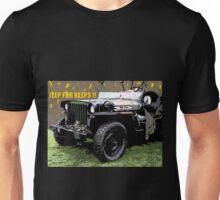 Jeep For Keeps Design Unisex T-Shirt