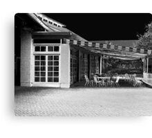 Closed Cafe Canvas Print