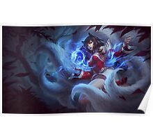 League of Legends - The Ahri Poster