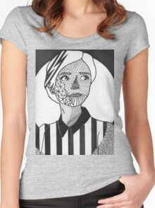 Oswin-Oswald Women's Fitted Scoop T-Shirt