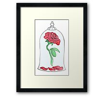 True Loves Rose Framed Print
