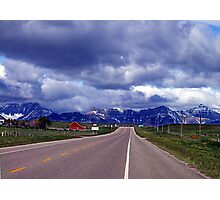 Road to the Rockies Photographic Print