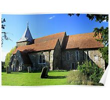 St Peter and St Paul Church, Peasmarsh Poster