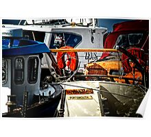Boats at Southwold Poster