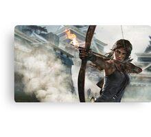 Tomb Raider - Lara Croft Hunting 2 Canvas Print