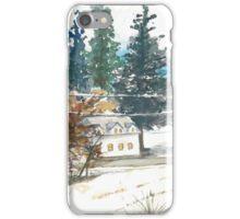 Greenspring Valley in Winter iPhone Case/Skin