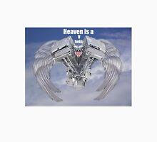 Heaven is a v twin Engine U.S.A Unisex T-Shirt