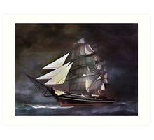 Sea stories 3.... Art Print