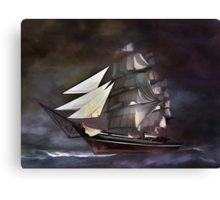 Sea stories 3.... Canvas Print