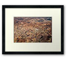 Arid Plains Framed Print
