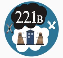Sherlock/Doctor Who/Tfios Design T-Shirt