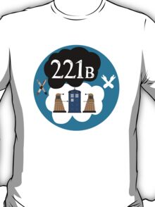 Sherlock/Doctor Who/Tfios Design T-Shirt