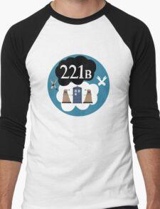 Sherlock/Doctor Who/Tfios Design Men's Baseball ¾ T-Shirt