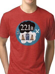 Sherlock/Doctor Who/Tfios Design Tri-blend T-Shirt