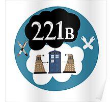 Sherlock/Doctor Who/Tfios Design Poster