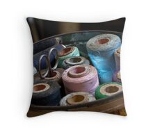 Loose Ends Throw Pillow