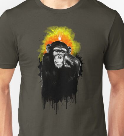 The Thinking Chimp Unisex T-Shirt