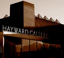 Hayward Gallery by Richard Pitman