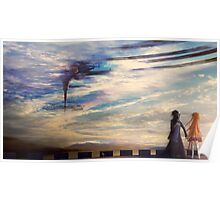 Sword Art Online - Asuna and Kirito, Aincrad Poster