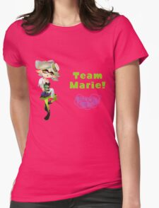 Splatoon! Team Marie Womens Fitted T-Shirt
