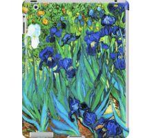 Van Gogh HDR Garden Irises iPad Case/Skin