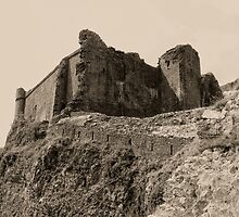 Castell Careg Cennen by Nigel Fletcher-Jones