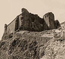 Castell Careg Cennen by Nigel Fletcher-Jones