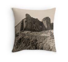 Castell Careg Cennen Throw Pillow