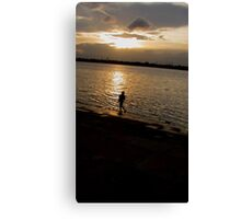 lonely..... Canvas Print