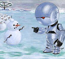 Tinny Snowman??? by Yvonne Lautenschlaeger aka medea