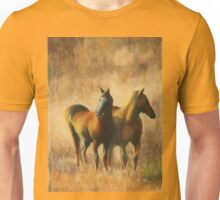 Mares on the Prairie Unisex T-Shirt