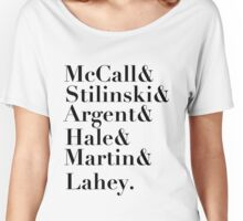 Teen Wolf characters. Women's Relaxed Fit T-Shirt