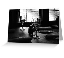 Set a place for me Greeting Card