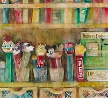 Pez Collection by Dorrie  Rifkin