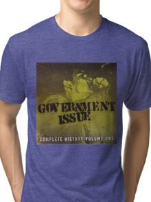 GOVERNMENT ISSUE - COMPLETE HISTORY VOLUME 1 Tri-blend T-Shirt