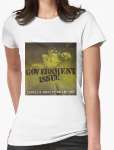 GOVERNMENT ISSUE - COMPLETE HISTORY VOLUME 1 Womens Fitted T-Shirt