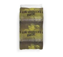 GOVERNMENT ISSUE - COMPLETE HISTORY VOLUME 1 Duvet Cover