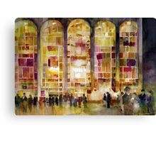 Night time at Lincoln Center Canvas Print