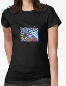 Bird with Swirly Plants T-Shirt