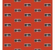 Nintendo Entertainment System Controller Pattern Photographic Print