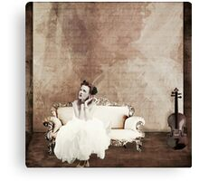 Lady in Waiting... Canvas Print